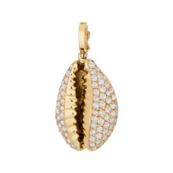 Pingente Hamar cravejado em Ouro 18k e Diamantes